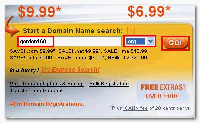 如何申請Godaddy域名及使用優惠碼